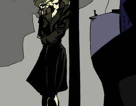 #40 untuk Horror Noir Detective Illustration oleh Yasuiwain