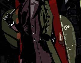 #17 untuk Horror Noir Detective Illustration oleh theculthouse