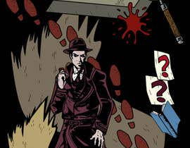 #39 untuk Horror Noir Detective Illustration oleh khoiruunisa