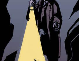 #23 untuk Horror Noir Detective Illustration oleh ElZapata