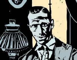 #5 untuk Horror Noir Detective Illustration oleh sashakelley
