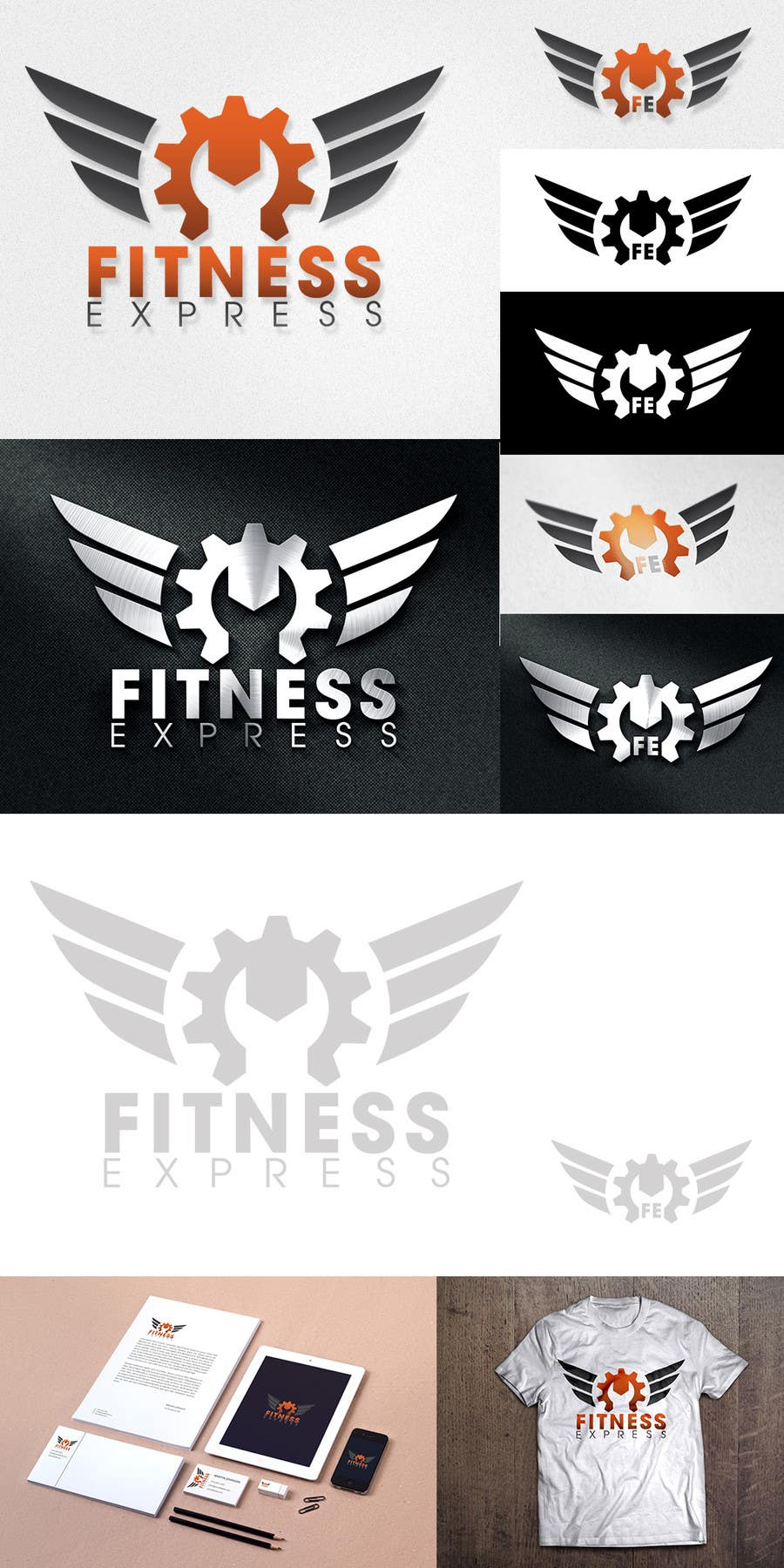 Contest Entry #                                        123                                      for                                         Design a Logo for my company called FITNESS EXPRESS, Inc