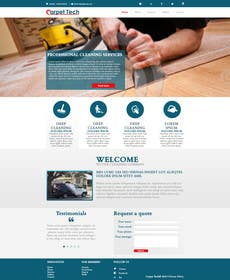 Design A Website Mockup For Carpet Cleaning Company