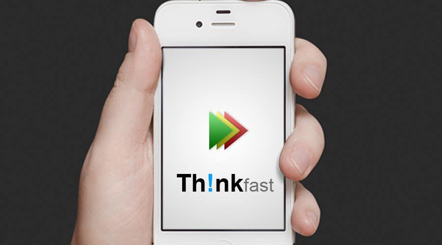 Kilpailutyö #48 kilpailussa Graphic Design for Think Fast