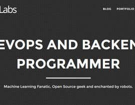 nº 3 pour Pashby Labs: DevOPS & Developer Portfolio Logo & Website par WPDude