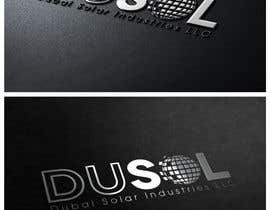 nº 383 pour Logo Design for DuSol Industries LLC par patrickpamittan