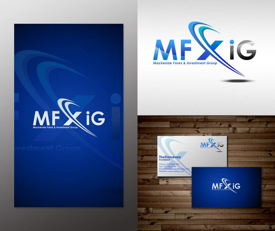 Konkurrenceindlæg #                                        55                                      for                                         Logo Design for Mackenzie Forex & Investment Group Pty Ltd