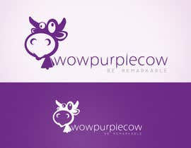 rogeliobello tarafından WOW! Purple Cow - Logo Design for wowpurplecow.com - Lots of creative freedom, Guaranteed Winner! için no 111