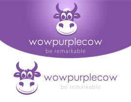 datagrabbers tarafından WOW! Purple Cow - Logo Design for wowpurplecow.com - Lots of creative freedom, Guaranteed Winner! için no 176