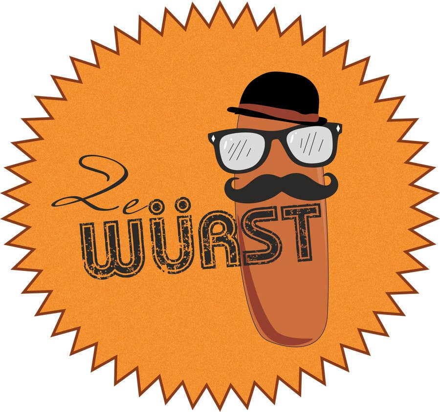 Contest Entry #                                        52                                      for                                         Ze Wurst Food Truck Logo