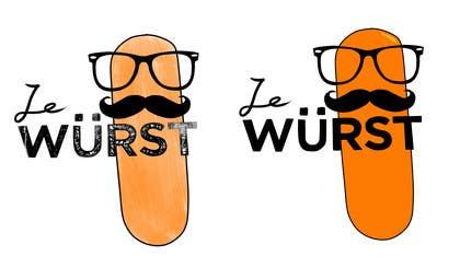 #6 para Ze Wurst Food Truck Logo por KeiTagura