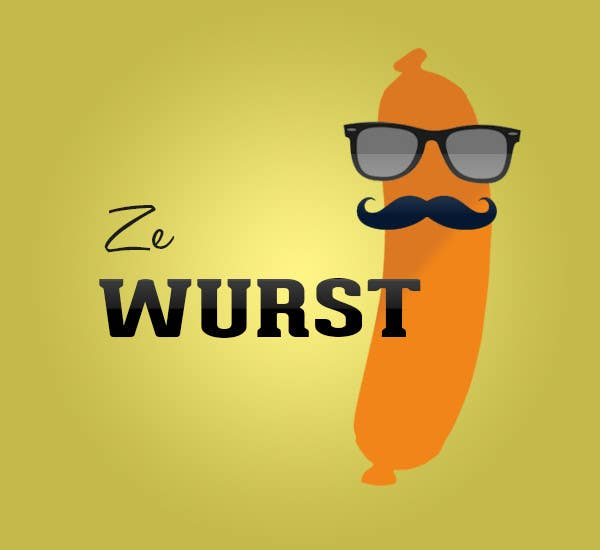 Contest Entry #                                        50                                      for                                         Ze Wurst Food Truck Logo