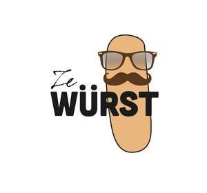 #3 para Ze Wurst Food Truck Logo por dworker88