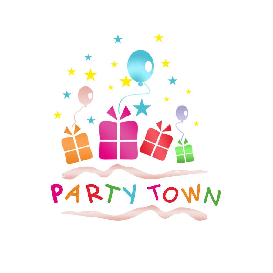 Contest Entry 26 For Design A Logo Party Supplies Store Children