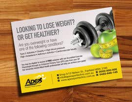 #48 para Design a small flyer for weight loss to leave at shop counters por decorusads