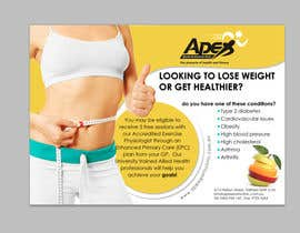 #33 para Design a small flyer for weight loss to leave at shop counters por gdinfinity