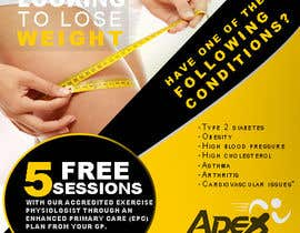 #22 para Design a small flyer for weight loss to leave at shop counters por appleiota