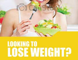 #13 para Design a small flyer for weight loss to leave at shop counters por paprikacreations