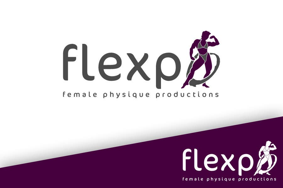 Contest Entry #101 for Logo Design for Flexpo Productions - Feminine Muscular Athletes