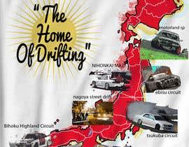 "#14 para Design a ""greetings from Japan"" design for car drifting company por Franstyas"
