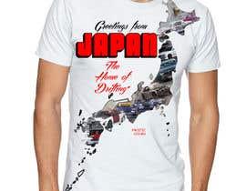 """#16 para Design a """"greetings from Japan"""" design for car drifting company por abuk007"""