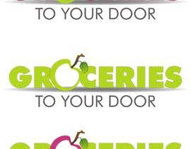 #168 dla Logo Design for Groceries To Your Door przez doarnora