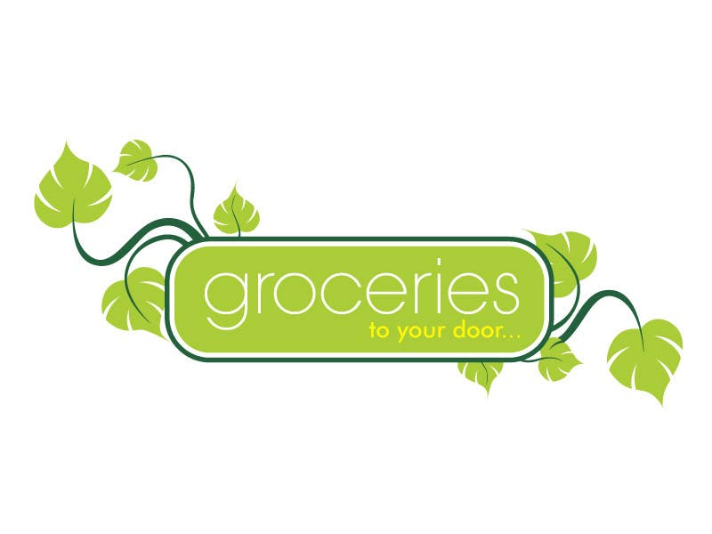Entri Kontes #302 untukLogo Design for Groceries To Your Door