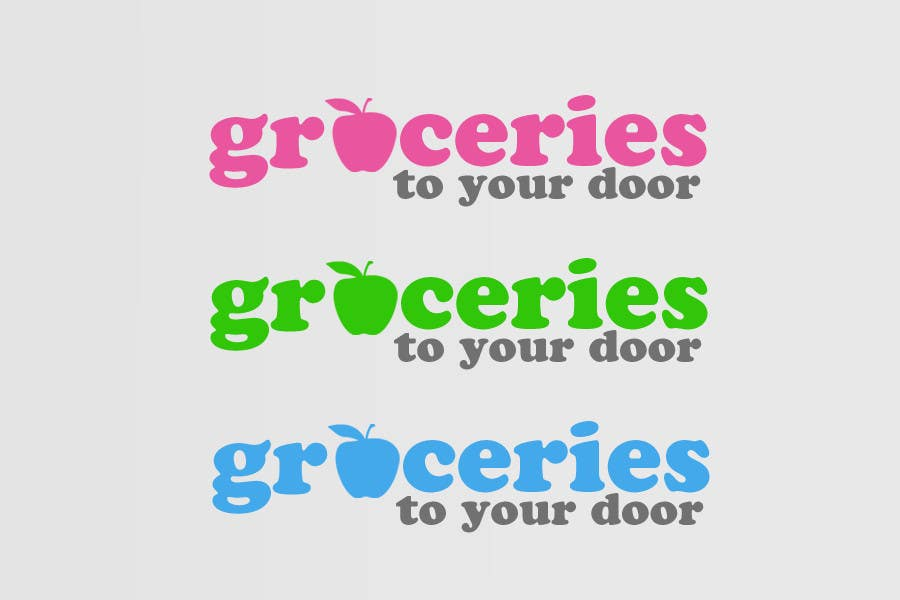 Entri Kontes #121 untukLogo Design for Groceries To Your Door