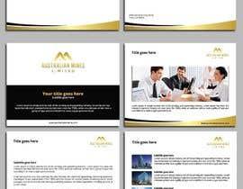 #133 สำหรับ Design some Business Cards, Power Point Presentation template and letterhead โดย dnoman20