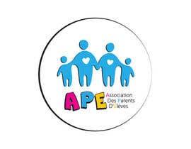 nº 26 pour Logo pour l'association des parents d'élèves des Ecorces (APE) par BiNika789