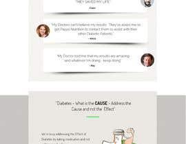 #7 для Urgent - Simple - Design a simple -short landing Page Mockup от happyweekend