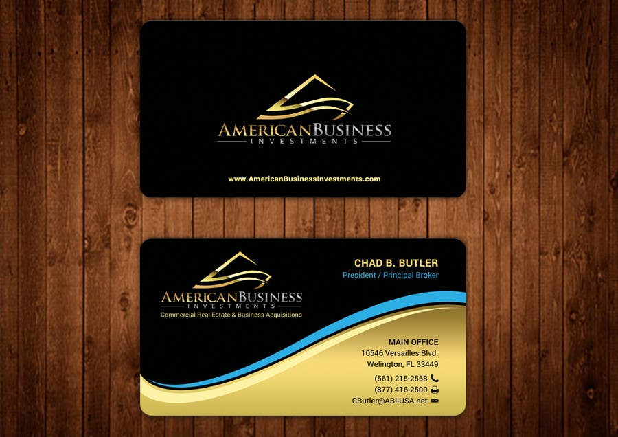 Entry #36 by aminur33 for Business Card Quick Pro Design Logo ...