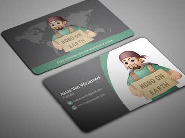 Image of                             Business Card Hobo On Earth