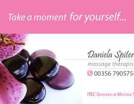 nº 29 pour Deisgn Business Cards for Massage Therapy par karinamvboas