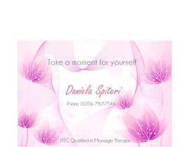 nº 13 pour Deisgn Business Cards for Massage Therapy par ro2020