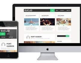 #11 para Ontwerp een Website Mockup for mark / label por GraphicDesignHUN