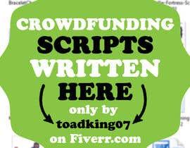 #17 untuk Write a brief script for a 1-2 minute crowd funding video oleh sanmoon2