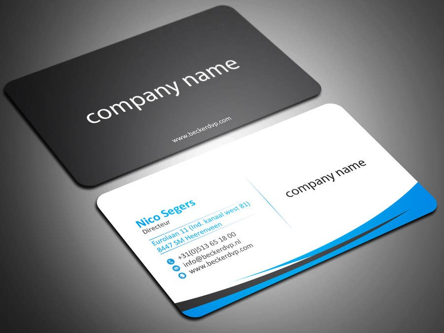 Entry #13 by sahasrabon for Design my Business Card | Freelancer