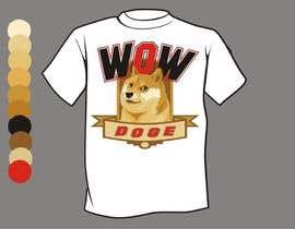 nº 30 pour Design a T-Shirt for a MEME (Doge meme) wow par artist4