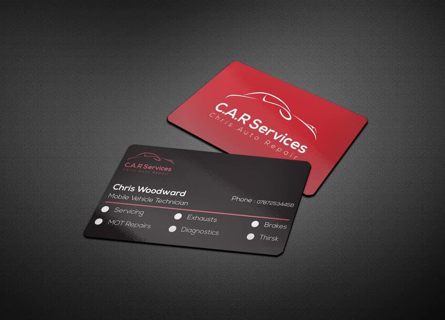 Entry #78 by aksghs for Design car mechanic business card | Freelancer