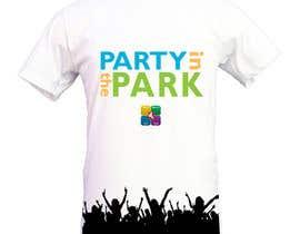 caspercham tarafından Design a T-Shirt for Party in the Park için no 19