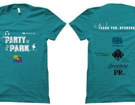 Aravindov tarafından Design a T-Shirt for Party in the Park için no 7