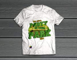 emanuelsousaa tarafından Design a T-Shirt for Party in the Park için no 12