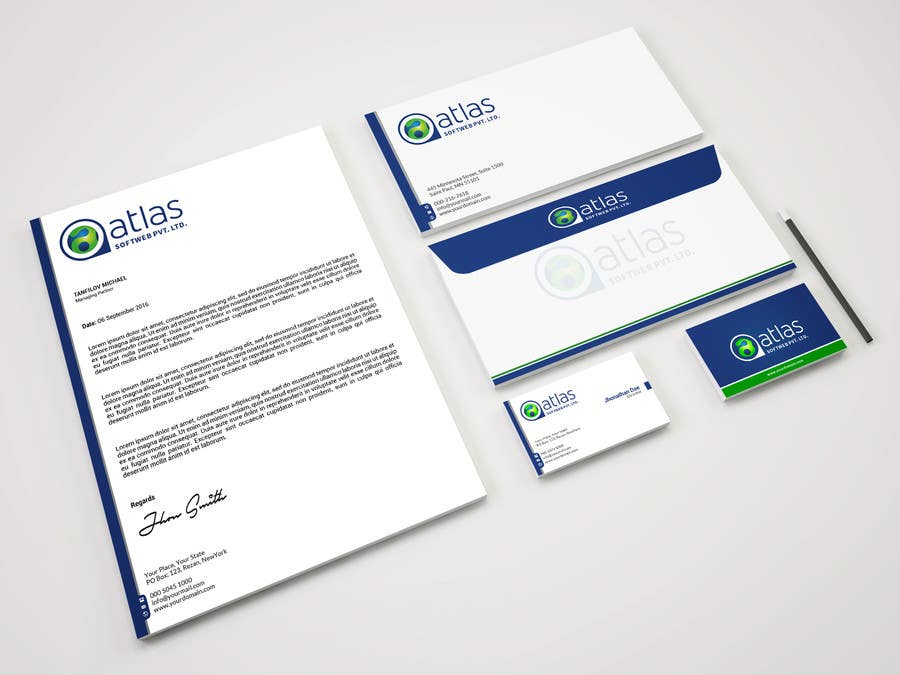 Entry #17 by mahmudkhan44 for Stationary Design - Letterhead ...