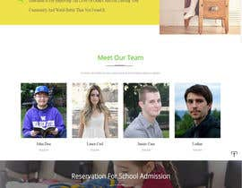 #17 for WordPress Template for a School Website by jhnbala07
