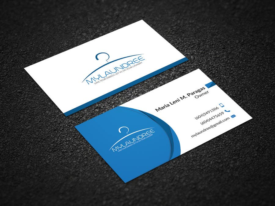 Awesome Laundry Business Card Sketch - Business Card Ideas - etadam.info