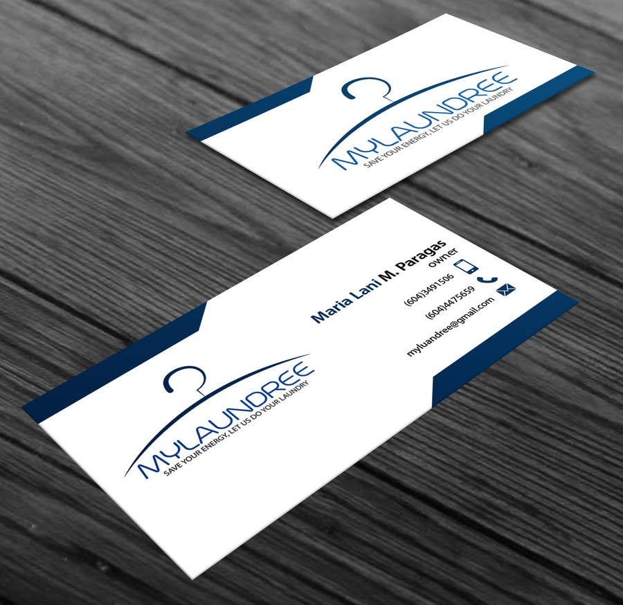 Entry #20 by monowar9 for Business Card for my new Laundry Business ...