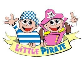 #128 untuk Logo Design for a baby shop - Nice pirates with a Cartoon style, fun and modern oleh manikmoon