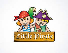 #113 untuk Logo Design for a baby shop - Nice pirates with a Cartoon style, fun and modern oleh samsolo