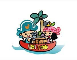 #114 untuk Logo Design for a baby shop - Nice pirates with a Cartoon style, fun and modern oleh ariestiaty